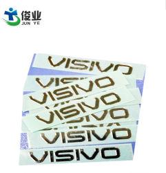 Dongguan 전기도금을 하는 공장 공급 Ultra-Thin 위 표시 전기 성형 표시 전기도금을 하는 레이블 명찰 금속 풀