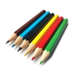 3.5 بوصة Mini Student Children Painting Wood 6 Color Pencil Set