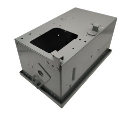 電気ケーブルの金属のキャビネットの製造を切るOEMによって電流を通される粉上塗を施してあるレーザー