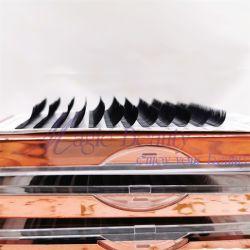 La extensión de pestañas je de etiqueta privada de cada ojo Classic Lash Faux Fur de visón para profesionales de la Mega volumen de uso