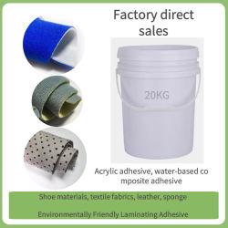 Equipamento para engraxar os materiais à prova de laminação de espuma Cola, Almofada Carro Cola de laminação, Pano de esponjas Base Água Cola de proteção ambiental, Base Água Pr Ambiental