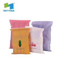 OEM 리클로싱 가능 지퍼 백 비닐 포장 맞춤형 로고 속옷 집 잠금 파우치