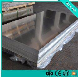 La norme ASTM 1000 3000 5000 Plaque en aluminium pour la construction de feuille en aluminium