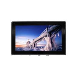 Highlightness 1000 Neten Volledige IP67 Waterdichte Ruwe Industriële LCD van 13.3 Duim Monitor voor het Tonen van de Navigatie van de Zeilboot/van de Boot