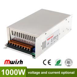 開いたフレームはAC 220V入力電圧DC 12V/24V/48V LEDのモジュール1000Wスイッチ電源をカスタム設計する