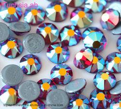L'Artisanat de verre cristal de diamant Fuchesia Ab Hotfix Strass Bling strass ongles