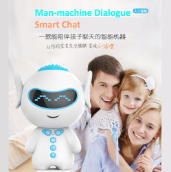 Giocattoli educativi di interazione del calcolatore umano dell'altoparlante del robot intelligente H3