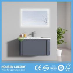 2018 LED quente PVC Pintura de alto brilho Arc armário de banheiro