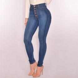 Kleren de van uitstekende kwaliteit In het groot Jean Fashion Jeans van Vrouwen
