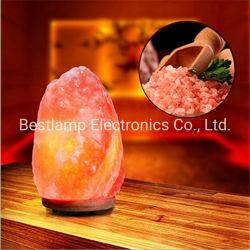 Lâmpada portátil de sal do Himalaia carga USB Luz decorativa Dom Moda