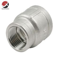 위생적인 스테인리스 스틸 304/316 암나사산 주물 파이프 피팅 커넥터 튜빙용 소켓 줄이기