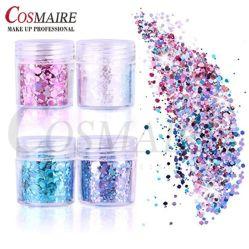 Производство косметических Блестящие цветные лаки для резки Randon вторичных хлопьев ПЭТ для лак для ногтей