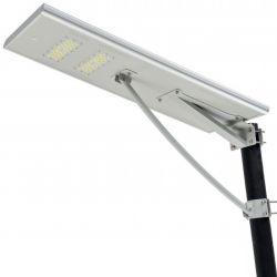 60W Rua Solar Luz com controle remoto completo da coluna Cam inundação do dispositivo