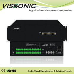 Système de conférence Vissonic vis-VLI700une série numérique infrarouge émetteur sans fil