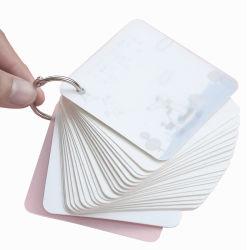 Abrazadera de anillo de metal plateado de la reserva para notebooks