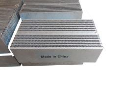 Бар пластины взявшись Core алюминиевого охладителя масла теплообменника