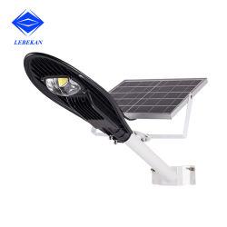 Cobra haute puissance Rue lumière solaire haute Lumen 20W 30W à LED extérieur PARA 50W 100W Rue lumière LED solaire