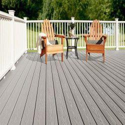 Materiale composito di plastica di legno di Decking del balcone WPC di spessore di Decking 25mm