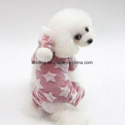 Rifornimento dell'animale domestico, vestiti molli del cucciolo della tuta di inverno dei prodotti del cane del panno morbido