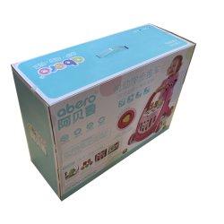 제조자 주문 손잡이를 가진 로고에 의하여 인쇄되는 골판지 접히는 아이 장난감 보행자 차 벽돌 기타 종이 선물 패킹 포장 판지 상자