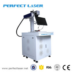 Macchina per marcatura laser a fibra di plastica con etichetta a bottone/ABS/tastiera per computer desktop Hot Sell