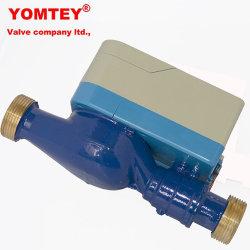 Compteur d'eau intelligente des ménages utilisant du matériel en laiton compteur prépayé