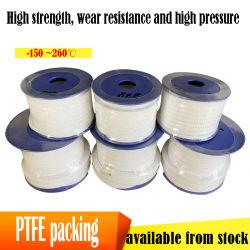 4mm/6/8/10/12/14/16/18/20mm l'imballaggio di PTFE che può essere aggiungono la corda della fibra della fibra PTFE del carbonio