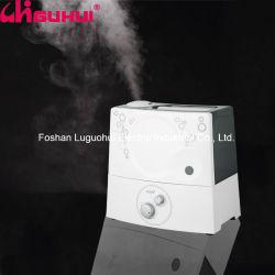 Une utilisation en intérieur de l'arôme de bureau l'air chaud de l'humidificateur avec plaque d'huile