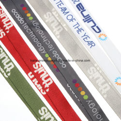 Custom Multi Color Design en impression en sublimation lanière de cou Lanyard Badge d'identification d'élingue et nom de détenteurs de carte PVC