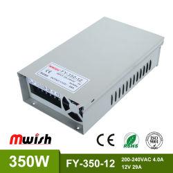 Vente chaude 350W 12V/15V/24V/48V AC/DC Alimentation à commutation de l'adaptateur