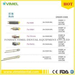 Lampe à fibre optique dentaire Handpiece Ampoule de LED pour l'accouplement rapide