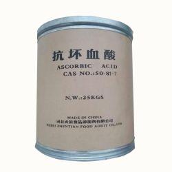 Het ascorbinezuur van de Rang van het voedsel (Vitamine C) CAS Nr.: 50-81-7 de Fabriek van China