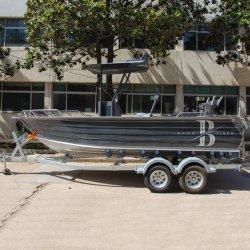 17FT de Open Boot van de Boot van de Sport van de Console van het Centrum van de Boot van het Aluminium van de Vissersboot van de Console van het centrum met Bovenkant
