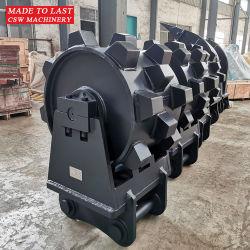 掘削機の幼虫E320の直売のための短縮の車輪