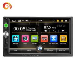 Giocatore doppio dell'automobile del MP3 MP4 MP5 del collegamento dello specchio di sostegno di Bluetooth 7023b MP5 del lingotto della nuova 7 automobile diretta di pollice 2DIN della fabbrica
