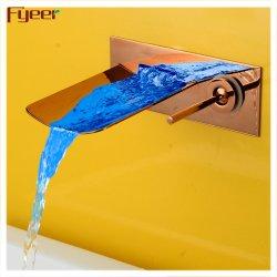 Fyeer Wasserfall-LED-Wasserhahn für Wandmontage