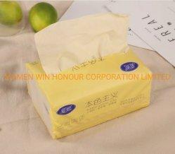 La pâte de bambou sain les mouchoirs de papier de couleur