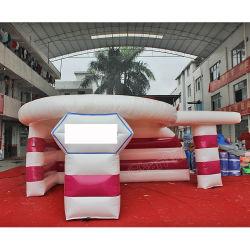Piscine gonflable portable tente d'exposition pour la promotion
