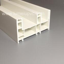 De gekleurde Witte Plastic Profielen van de Deur en van het Venster van pvc