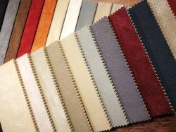 O mobiliário é falso tecido camurça, Tampa do assento de tecido em camurça poliéster