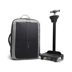 Бизнес моды взять на себя для защиты от краж USB школ поездки тележка рюкзак