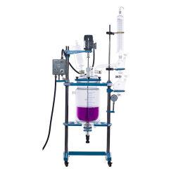30L'isolant chemisé pour bouteille de verre double réacteur