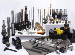 A precisão de injeção de plástico Molde Padrão Componentes de moldagem de peças de reposição Peças de molde de usinagem CNC