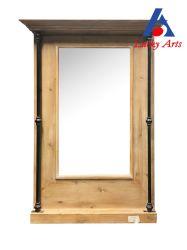 Décoration maison antique Cadre en bois miroir