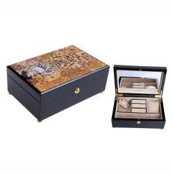 La fábrica de joyas de madera personalizado Embalaje con la pintura clásica