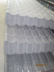 O PVC Anti-Corrosive Telha de resina composta, Villa folha de metal de resina
