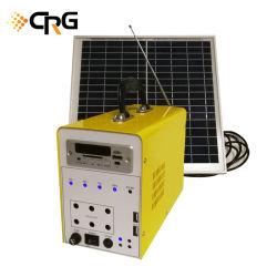 30W Accueil tout en un système d'éclairage solaire