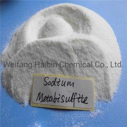 Prodotti chimici Na2s2o5 pH 4.3 di industria estrattiva del reagente di lancio