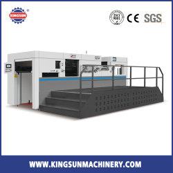 MHK-1050 자동 모형 종이상자 상자는 절단기를 정지한다