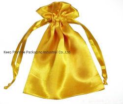Het winkelen Drawstring Costmetic de Zak van de Juwelen van de Halsband van de Armband van de Tegenhanger van de Ring van de Gift van Kerstmis
